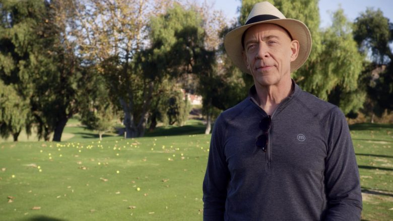 Travis Mathew Shirt Worn by J. K. Simmons in Veronica Mars - Season 4, Episode 2, Chino and the Man (2019) - TV Show Product Placement
