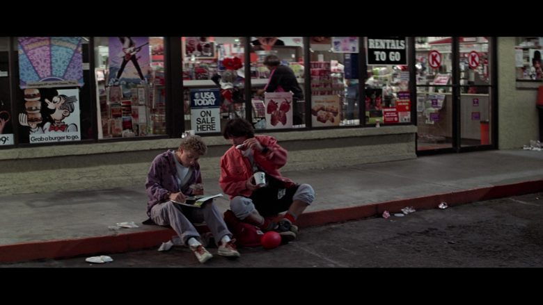 USA Today in Bill & Ted's Excellent Adventure (1989) - Movie Product Placement