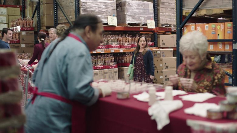 UTZ Snacks in Baskets - Season 4, Episode 6, Common Room Wake (2019) - TV Show Product Placement