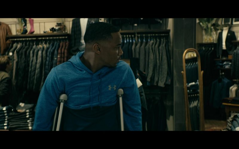 Under Armour Hoodie Worn by Jessie Usher as A-Train in The Boys (1)