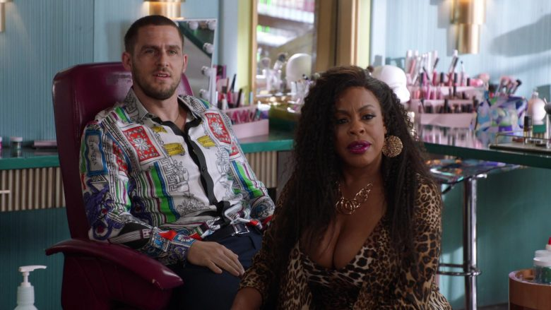 Versace Shirt Worn by Jack Kesy in Claws - Season 3, Episode 6, Fly Like an Eagle (2019) - TV Show Product Placement
