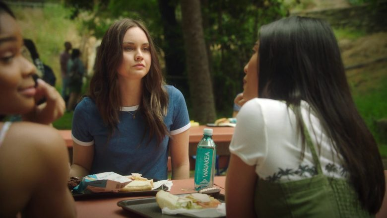 """Waiākea Water Enjoyed by Liana Liberato in Light as a Feather - Season 2, Episode 8, """"... White as a Ghost"""" (2019) - TV Show Product Placement"""