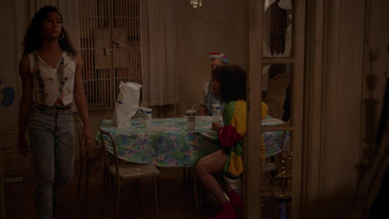 White Castle Food & Cups in Pose - Season 2, Episode 4, Never Knew Love Like This Before (2019) - TV Show Product Placement