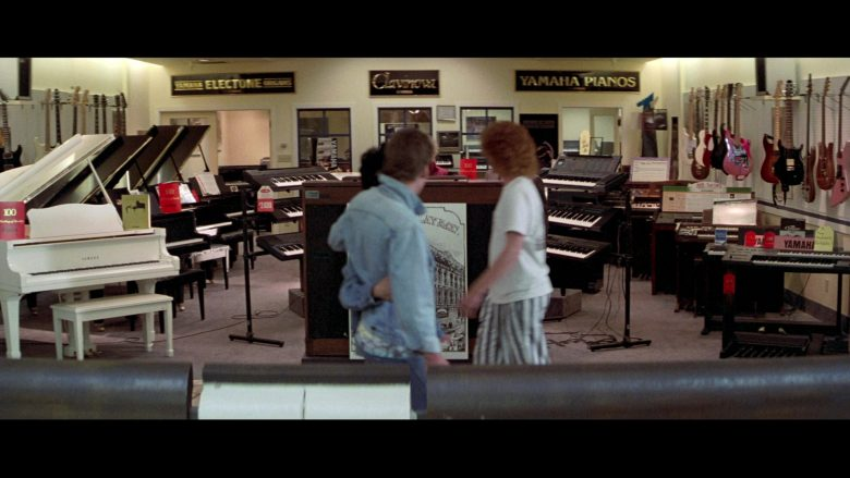 Yamaha Pianos in Bill & Ted's Excellent Adventure (1989) - Movie Product Placement
