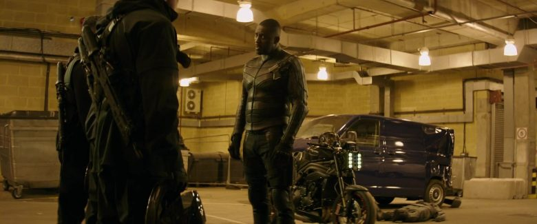 Triumph Motorcycle Used by Idris Elba in Fast & Furious Presents: Hobbs & Shaw (2019) - Movie Product Placement