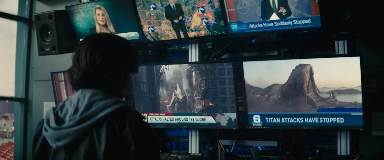 AOC TVs in Godzilla: King of the Monsters (2019) - Movie Product Placement