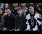 Adidas Black & White Sports Jacket Worn by Ross Butler as Zach in 13 Reasons Why (4)