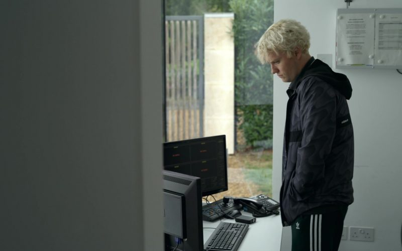 Adidas Jacket and Pants Worn by Jon Fletcher in The Rook – Season 1, Episode 8