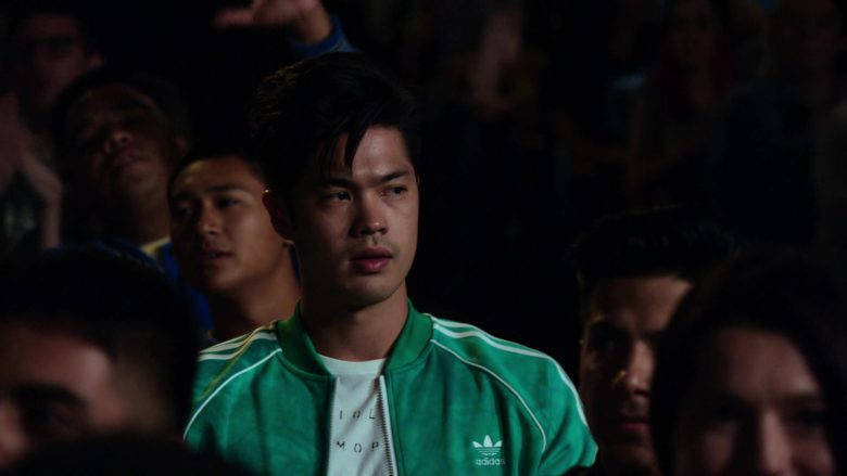 """Adidas Jackets Worn by Ross Butler in 13 Reasons Why - Season 3, Episode 2, """"If You're Breathing, You're a Liar"""" (2019) - TV Show Product Placement"""