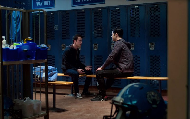 Adidas Sneakers Worn by Ross Butler as Zach in 13 Reasons Why