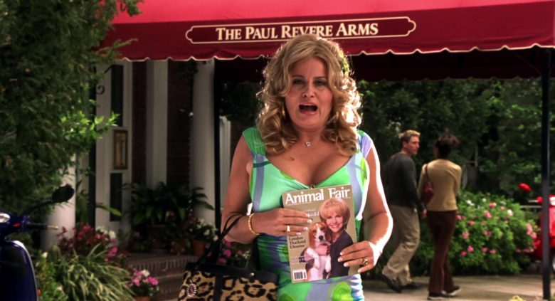 Animal Fair Magazine Held by Jennifer Coolidge in Legally Blonde 2: Red, White & Blonde (2003) - Movie Product Placement