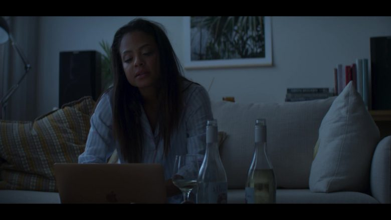 Apple MacBook Air Laptop Used by Christina Milian in Falling Inn Love (2019) - Movie Product Placement