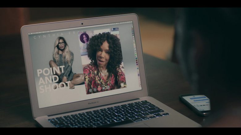 Apple MacBook Air Laptop Used by Logan Browning in Dear White People - Season 3, Episode 5 (2019) - TV Show Product Placement