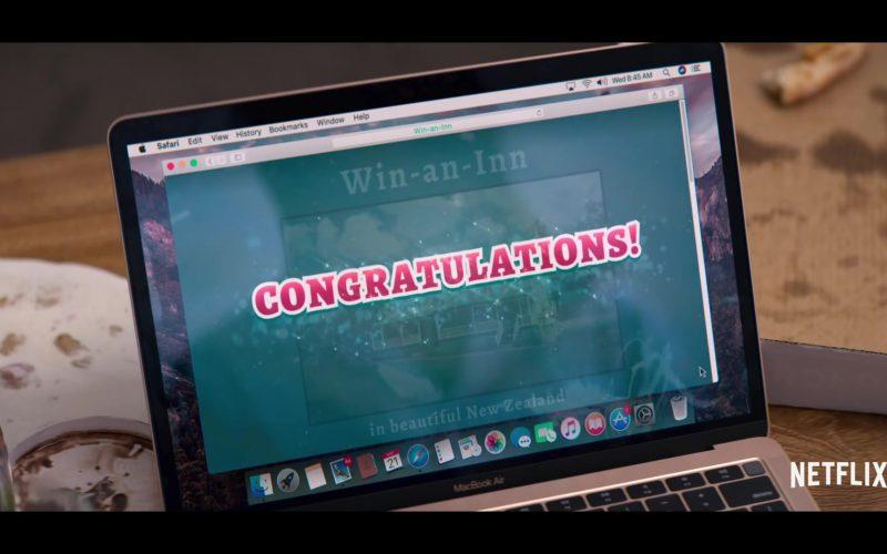 Apple MacBook Air Laptop and Safari WEB Browser in Falling Inn Love