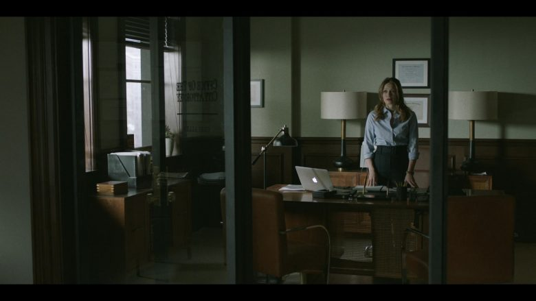 Apple MacBook Laptop Used by Bethany Joy Lenz in Pearson - Season 1, Episode 4, The Deputy Mayor (2019) TV Show