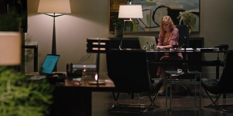 Apple MacBook Laptop Used by Kelly Reilly in Yellowstone - Season 2, Episode 7, Resurrection Day (2019) - TV Show Product Placement