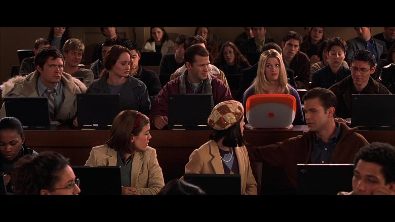 Apple iBook Orange Laptop Used by Reese Witherspoon in Legally Blonde (2001) - Movie Product Placement