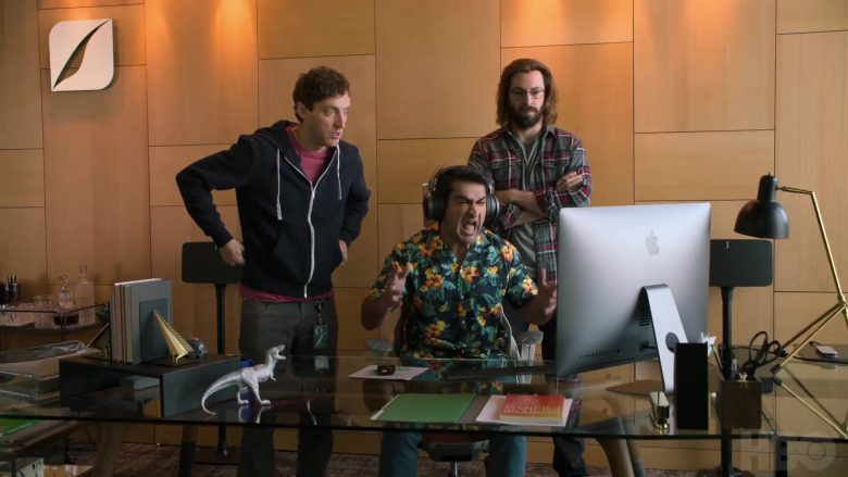 Apple iMac Computer Used by Thomas Middleditch as Richard Hendricks, Martin Starr as Bertram Gilfoyle & Kumail Nanjiani as Dinesh Chugtai in Silicon Valley - Season 6 Official Trailer (2019) - TV Show Product Placement