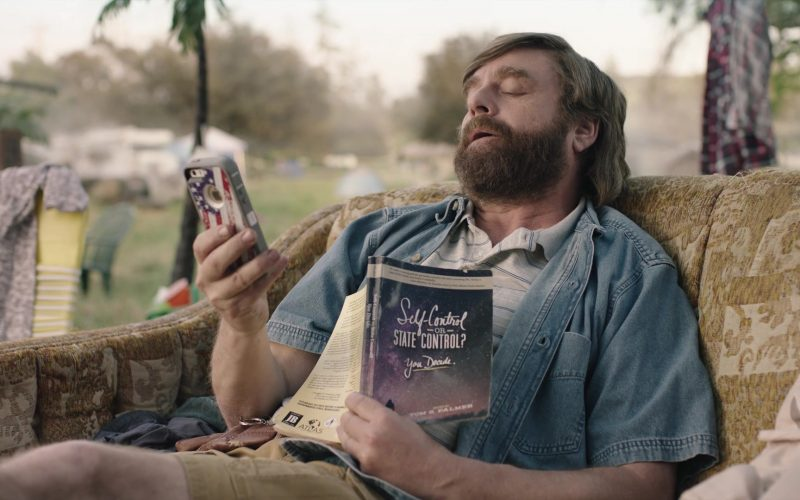 Apple iPhone Mobile Phone Used by Zach Galifianakis in Baskets