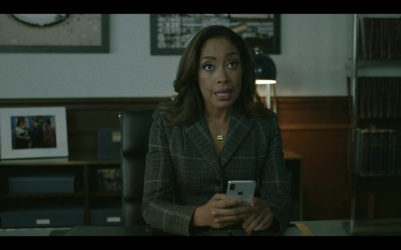 Apple iPhone Smartphone Held by Gina Torres in Pearson