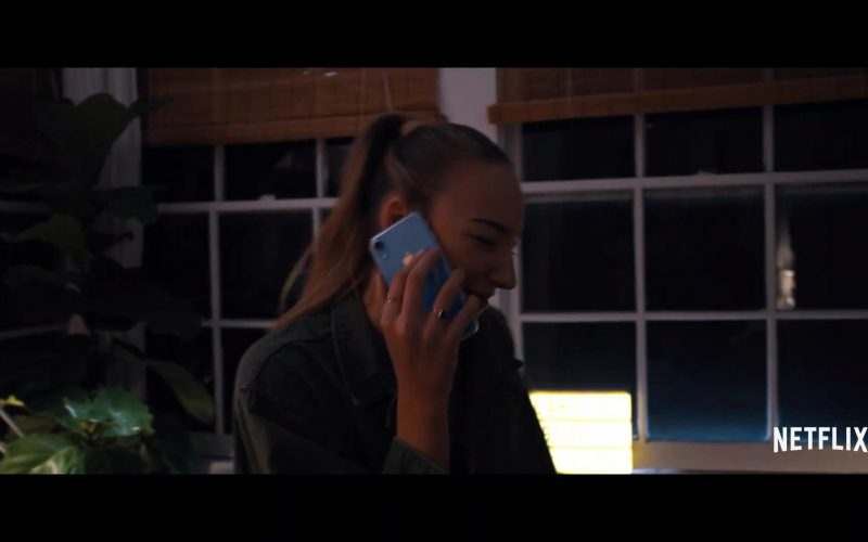 Apple iPhone XR Blue Smartphone Used by Used by Ava Michelle in Tall Girl (1)