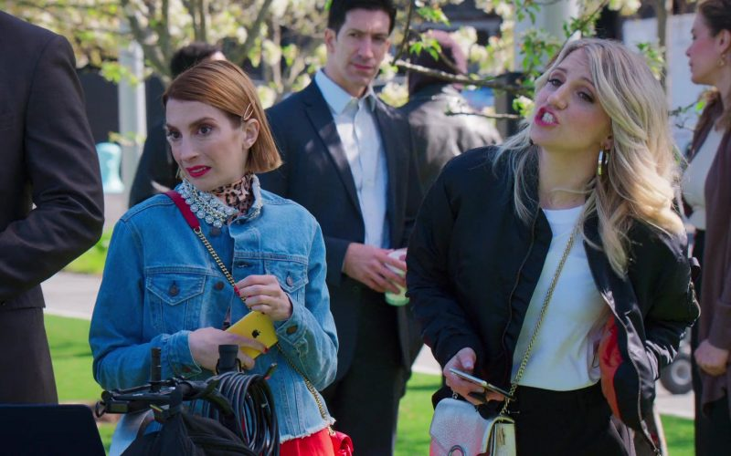 Apple iPhone XR Yellow Smartphone Held by Molly Kate Bernard in Younger (1)