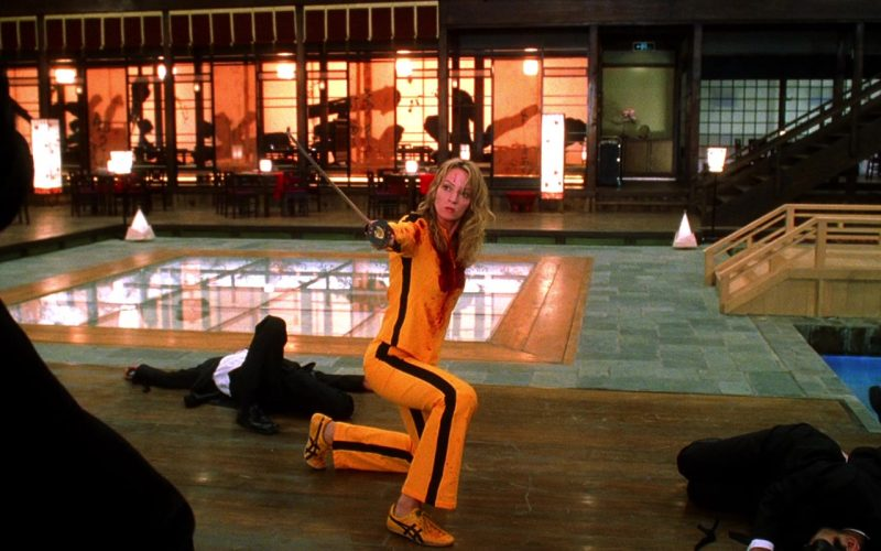 Asics Yellow Shoes Worn by Uma Thurman as The Bride in Kill Bill Vol. 1 (5)
