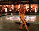 Asics Yellow Shoes Worn by Uma Thurman as The Bride in Kill Bill Vol. 1 (7)
