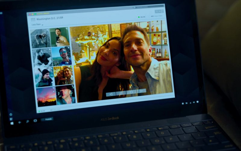 Asus ZenBook Laptop Used by Olivia Munn in The Rook (2)