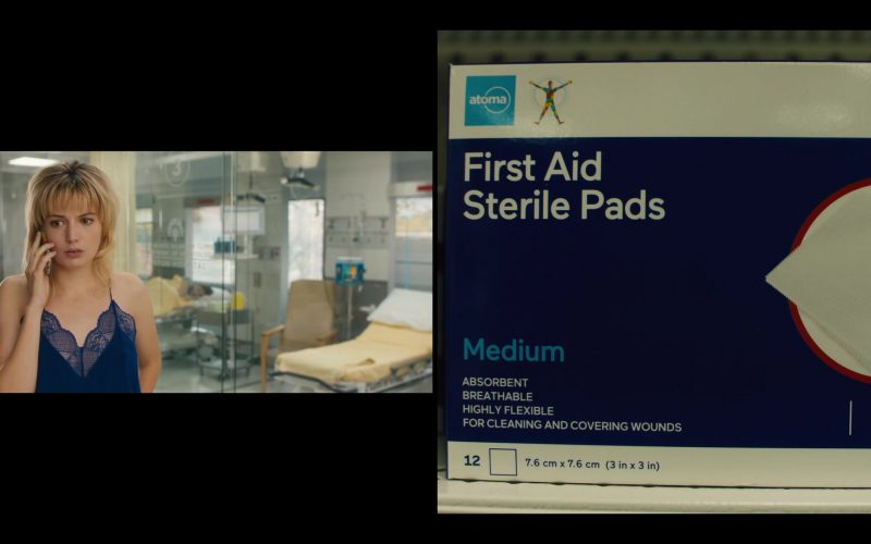 Atoma First Aid Sterile Pads in Jett – Season 1 Episode 8
