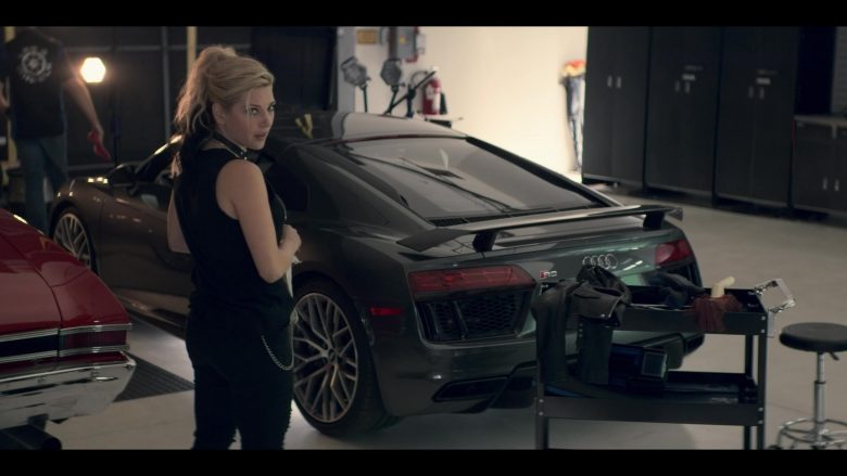Audi R8 Sports Car in Wu Assassins - Season 1, Episode 2, Misspent Youth (2019) TV Show