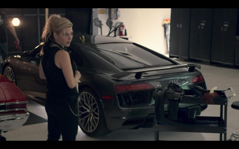 Audi R8 Sports Car in Wu Assassins (1)
