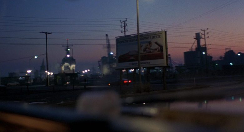 Bank Of America Billboard in To Live and Die in L.A. (1985) - Movie Product Placement