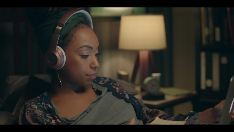 Beats Headphones Used by Logan Browning in Dear White People - Season 3, Episode 3 (2019) - TV Show Product Placement