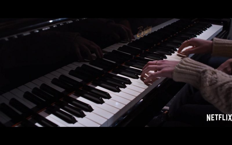 Boston Piano Designed by Steinway & Sons Used by Ava Michelle & Luke Eisner in Tall Girl (1)