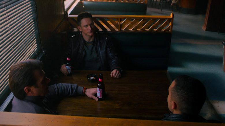 Budweiser Beer in City on a Hill - Season 1, Episode 8, High On The Looming Gallows Tree (2019) - TV Show Product Placement