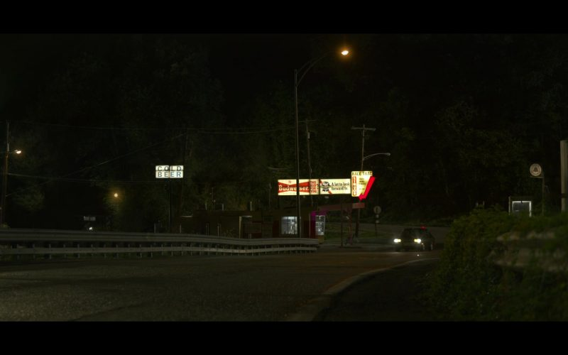 Budweiser and Pabst Billboard in Mindhunter
