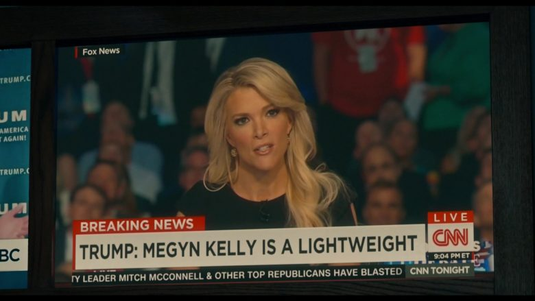 """CNN TV Channel in The Loudest Voice - Season 1, Episode 6, """"2015"""" (2019) - TV Show Product Placement"""