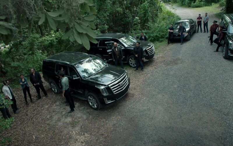 Cadillac Escalade SUVs in Queen of the South