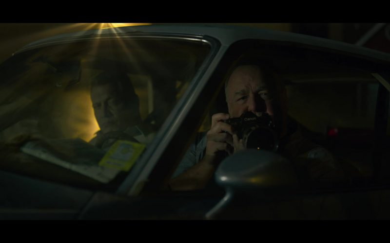 Canon Camera in Mindhunter