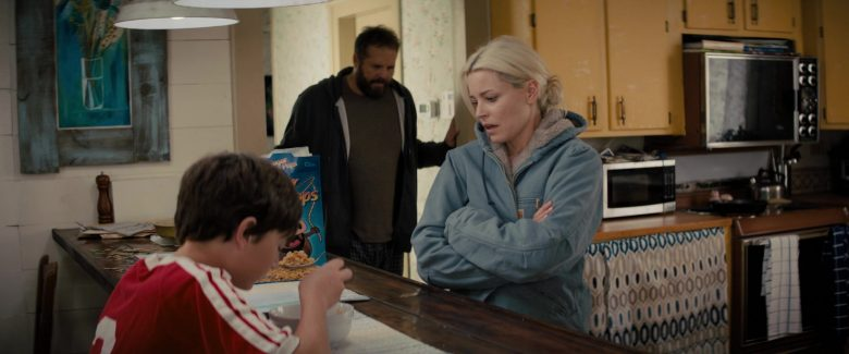 Carhartt Women's Blue Jacket Worn by Elizabeth Banks in Brightburn (2019) - Movie Product Placement