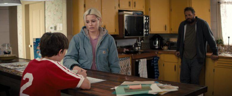 Carhartt Women's Blue Jacket Worn by Elizabeth Banks in Brightburn (2019) - Movie Product Placement