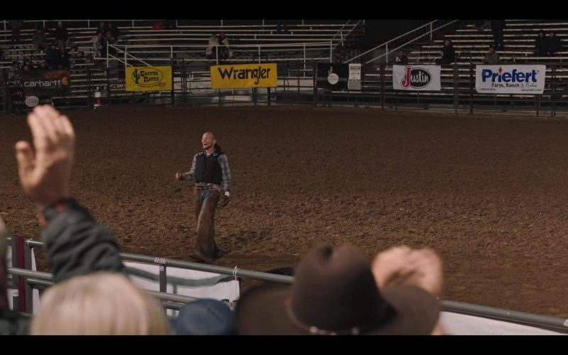 Carhartt, Wrangler, Justin Boots, Priefert in Yellowstone (1)