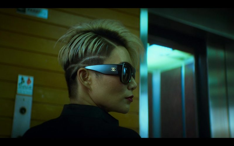 Chanel Sunglasses Worn by JuJu Chan in Wu Assassins (3)