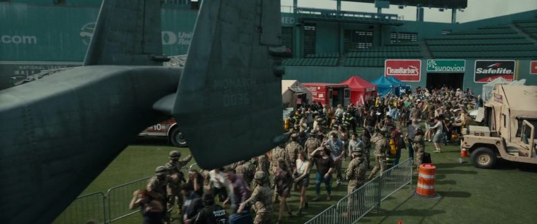 Clean Harbors, Sunovion, Safelite in Godzilla: King of the Monsters (2019) - Movie Product Placement