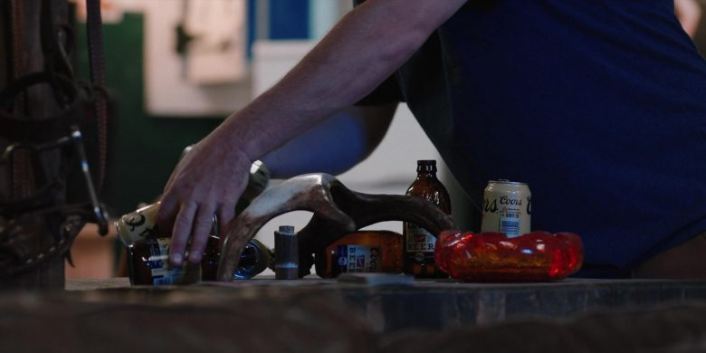 Coors Beer Cans and Bottles in Yellowstone - Season 2, Episode 8, Behind Us Only Grey (2019) TV Show