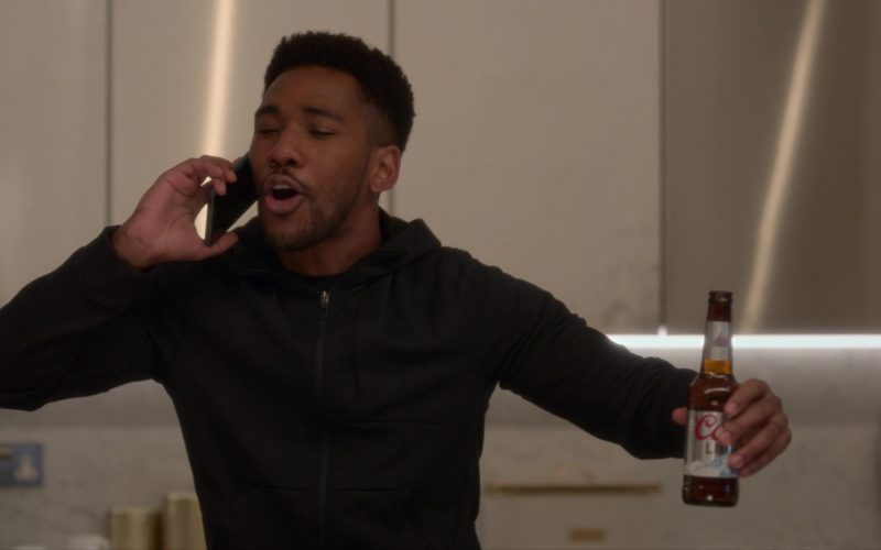 Coors Light Beer Enjoyed by Brandon Mychal Smith in Four Weddings and a Funeral