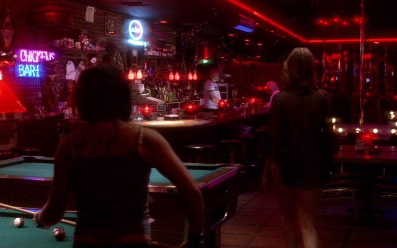 Coors Light Beer Neon Sign in Kill Bill Vol. 2