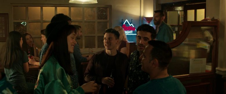 Coors Light Beer Neon Sign in The Hustle (2019) - Movie Product Placement