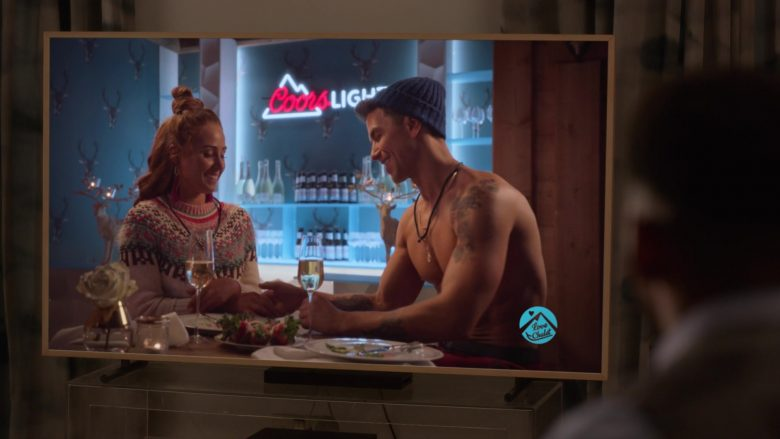 Coors Light Neon Signs in Four Weddings and a Funeral - Season 1, Episode 5, Love, Chalet (2019) - TV Show Product Placement